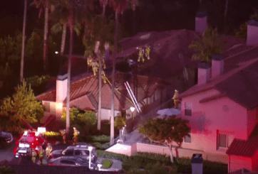 Incendio deja 8 personas y 2 mascotas sin hogar en Mission Valley