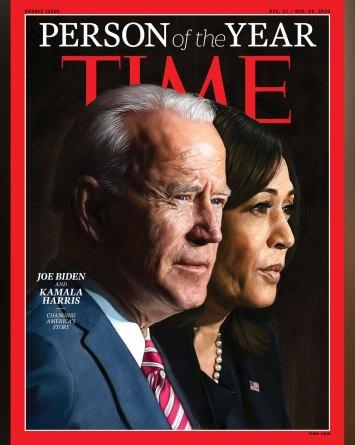 Joe Biden y Kamala Harris son «persona del año» de la revista Time