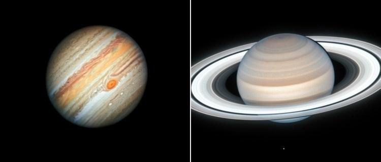 Júpiter y Saturno se acercarán como no lo han hecho en 800 años
