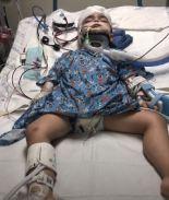 Menor de 4 años lucha por recuperarse tras accidente en Las Vegas