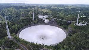 Fin de una era: Colapsa el Observatorio de Arecibo
