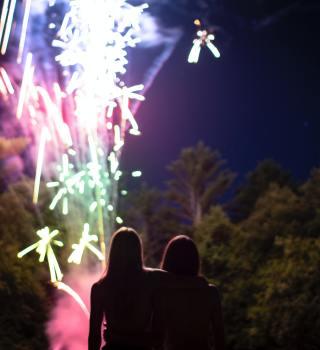 Autoridades piden precaución ante uso de fuegos artificiales