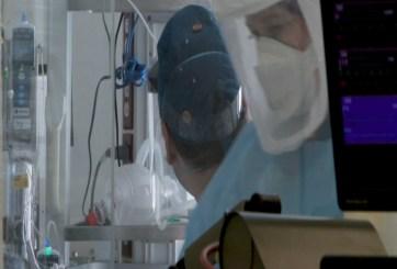 Casi lleno a capacidad en unidades de cuidados intensivos de la costa central