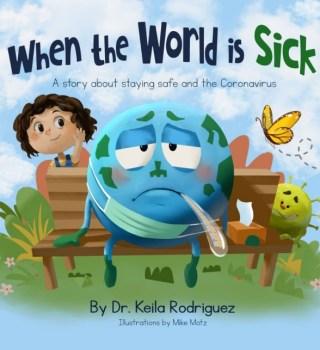 Doctora del Valle crea libro para niños para explicar la pandemia