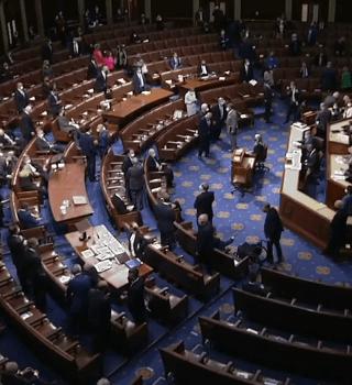 Republicanos «rectifican» en su votación, tras violencia en el Capitolio