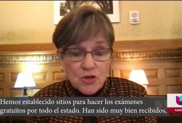La gobernadora de Kansas habla sobre el futuro de las licencias para indocumentados