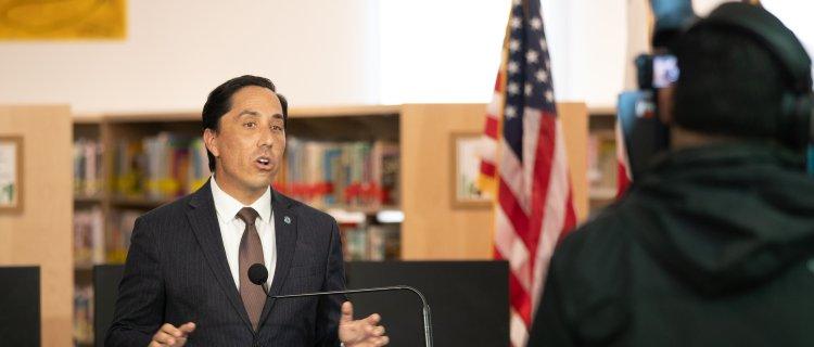 El Alcalde de San Diego Todd Gloria en su primer informe habló del problema de vivienda