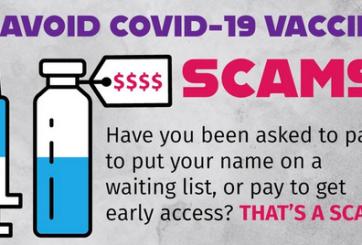 Agencias del orden advierten sobre intentos de estafa con la vacuna de COVID-19