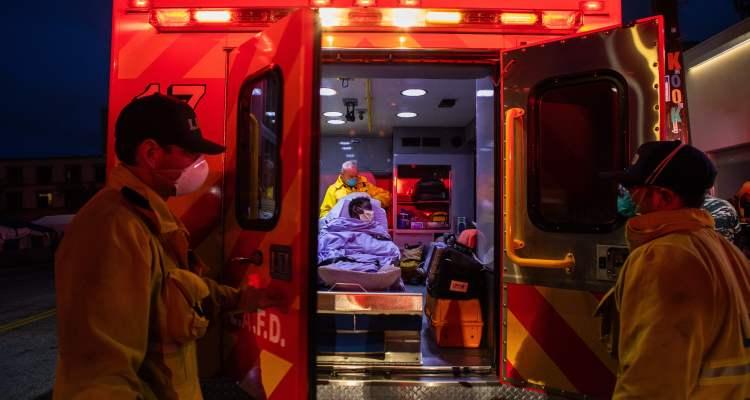 Ambulancias de L.A. ya no llevarán pacientes con pocas posibilidades de sobrevivir