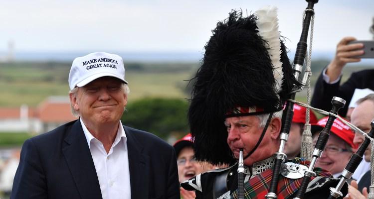 ¿Se irá Donald Trump a vivir a Escocia?