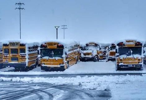 Escuelas de Carson City cerradas el miércoles por condiciones invernales