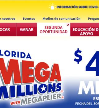 Aumenta a $447 millones Mega Millions para esta noche