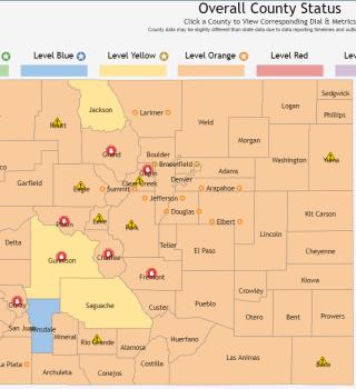 Aumentan las cifras de COVID-19 en Colorado justo cuando se disminuyeron las restricciones