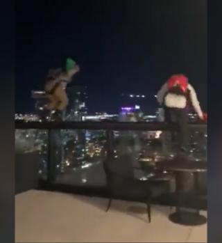 Hombres saltaron ilegalmente desde azotea de Grand Hyatt en Nashville