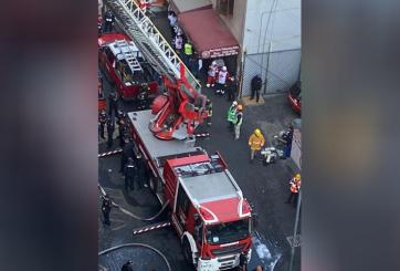 Al menos 1 muerto y 29 afectados tras incendio en metro de CDMX