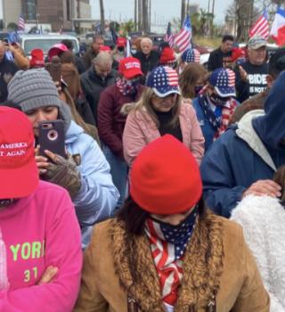 Simpatizantes de Trump opinan sobre su visita al Valle del Texas