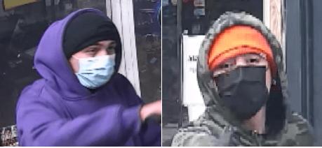 Policía de Denver está tras la pista de dos sospechosos de hurto agravado