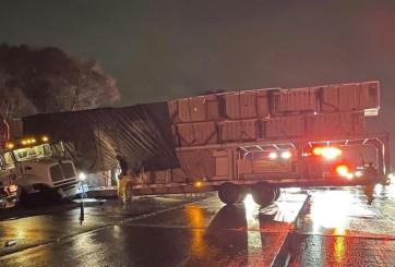 Accidente de camión provoca cierre de carriles en National City