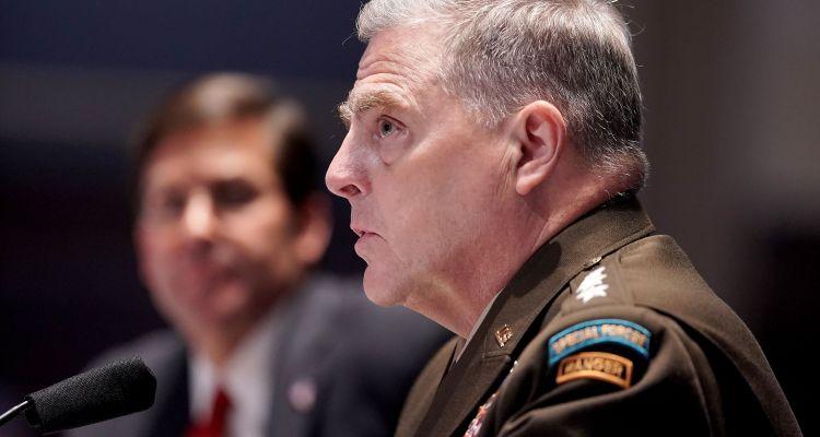 Jefes militares aseguran que Biden será el próximo presidente de EE.UU.