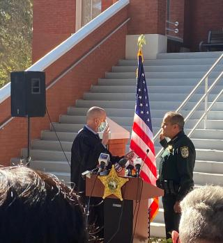 ¡Histórico! Primer Alguacil hispano asume el condado de Osceola