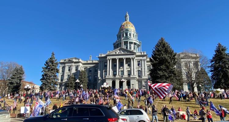 Patrulla estatal de Colorado dice estar preparada para las posibles manifestaciones