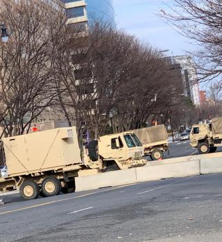 Cierran acceso total a cercanías del Capitolio en D.C.
