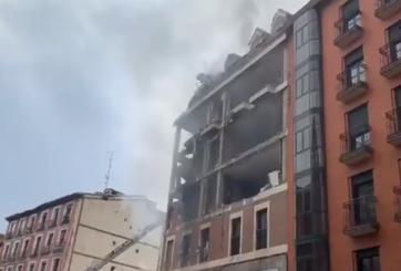 Explosión en edificio de Madrid deja al menos dos muertos