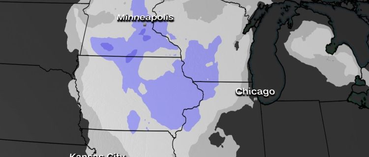Alertan por poderosa tormenta de nieve que se dirige al centro de Estados Unidos