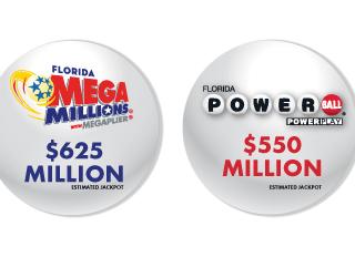 ¡A $625 millones creció Mega Millions para esta noche!