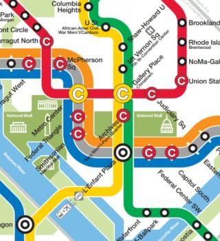 Cambios en Metro de D.C. por restricciones de toma de posesión