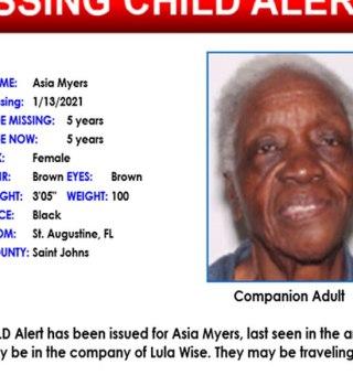 Desaparece una niña de 5 años, que podría estar con mujer de 86