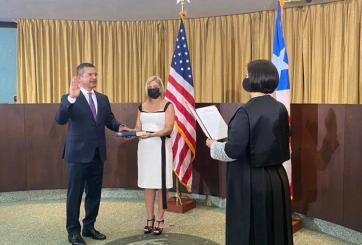 Pierluisi toma posesión como gobenador de Puerto Rico