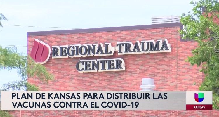 Plan de Kansas para distribuir las vacunas contra Covid-19