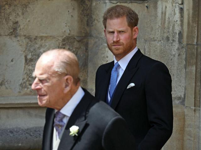 príncipes harry y philip