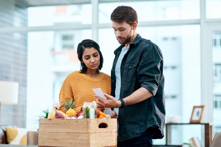 pareja groceries
