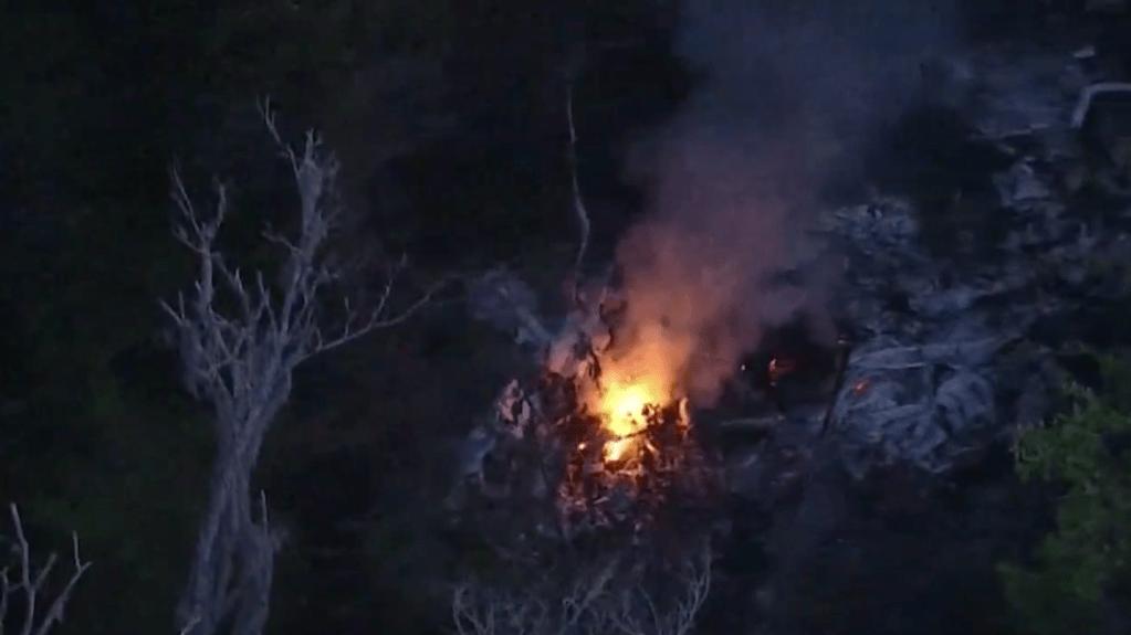 La caída del helicóptero Black Hawk dejó cuatro fallecidos, de los cuales solo uno ha sido reconocido.