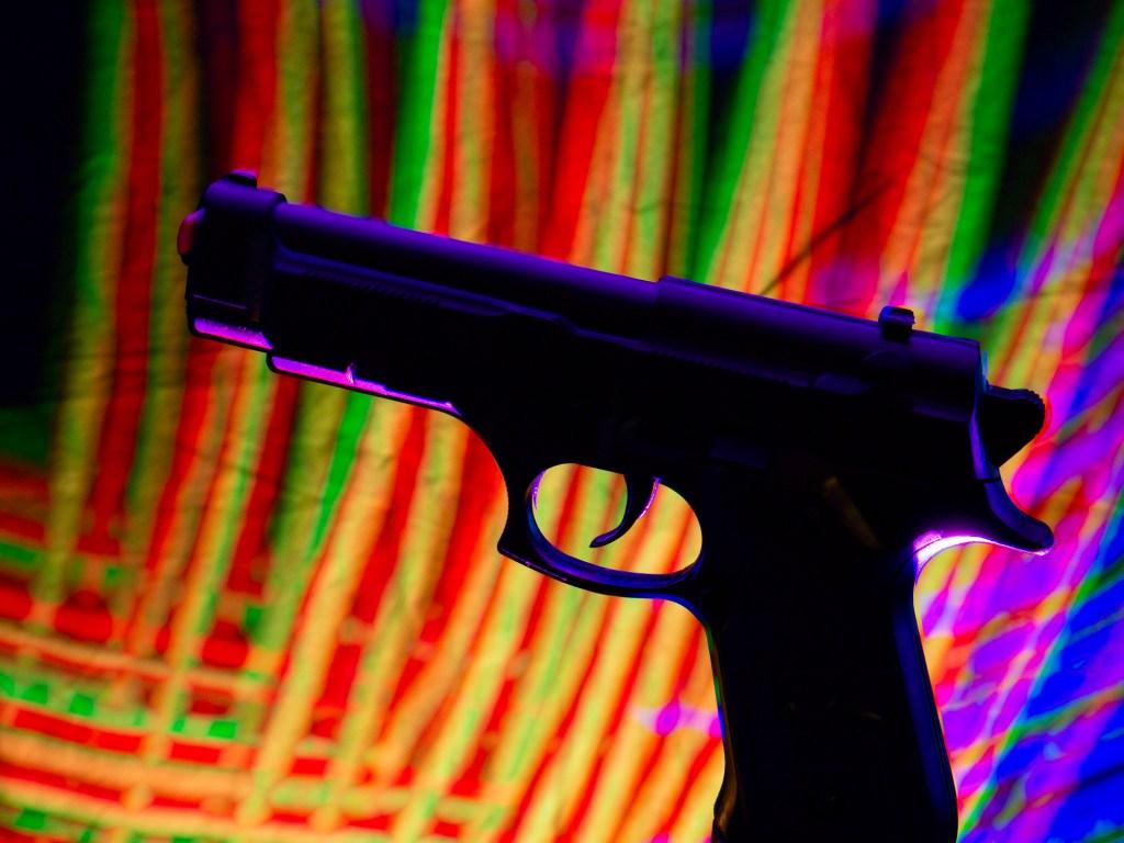 pistola colores
