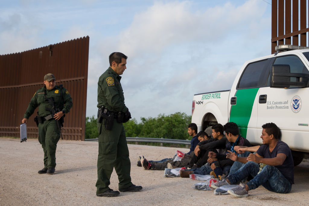 arrestos frontera