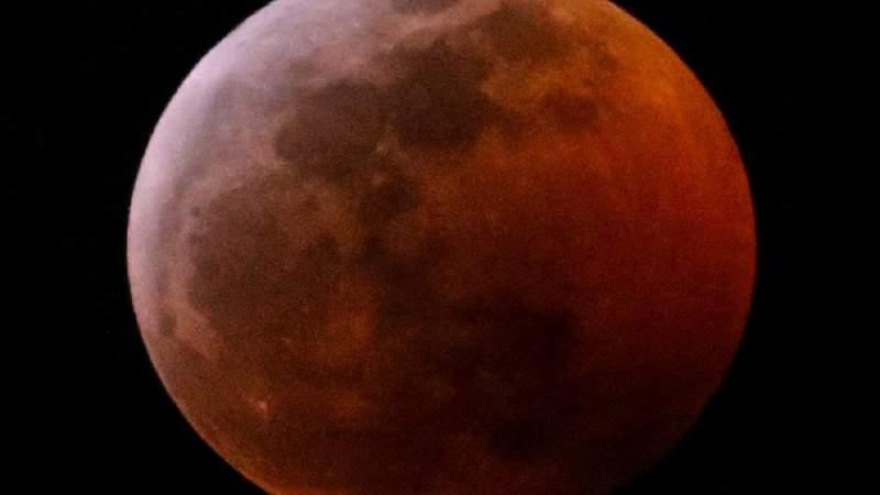 Esta fue la Super Luna vista en 2019. (AP Photo/Ringo H.W. Chiu)