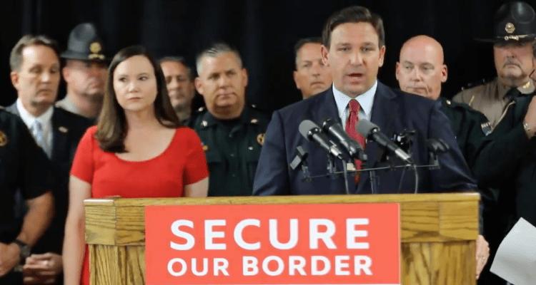Gobernador DeSantis enviará tropas a la frontera de Texas y Arizona con México