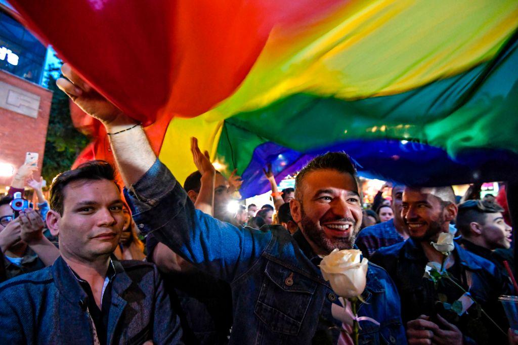 Marcha gay en Colombia