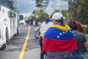 Éxodo de venezolanos a Colombia
