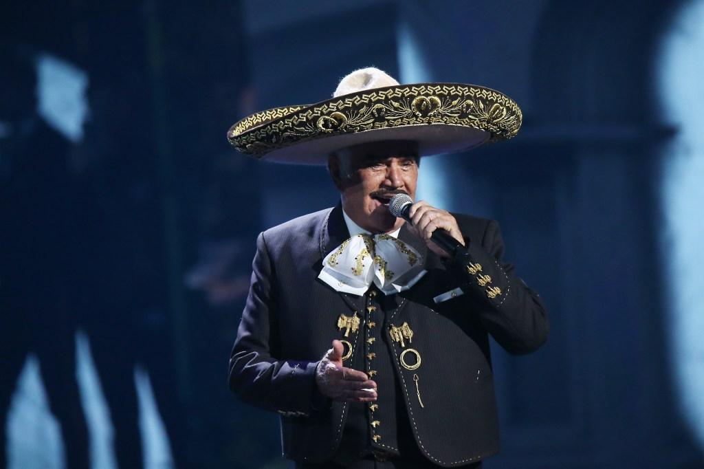 Vicente Fernández en los Latin GRAMMY 2019