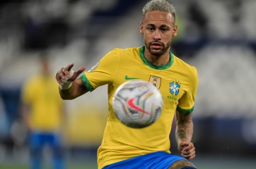 Neymar en la Copa América 2021