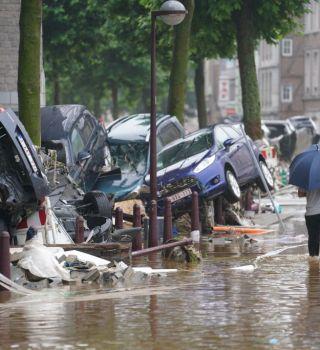 Al menos 46 muertos y decenas de desaparecidos por inundaciones en Europa