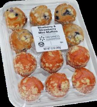Estos muffins fueron retirados de los mercados por posible peligro de contaminación