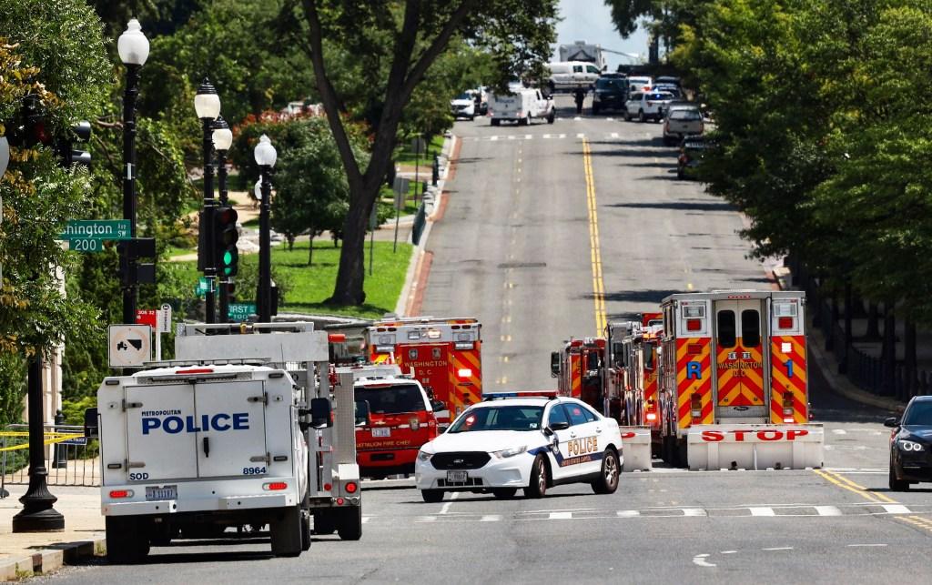 Amenaza de Bomba DC