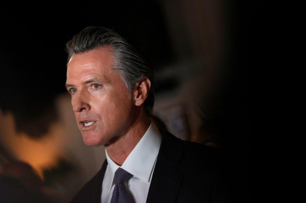 Gobernador de California Gavin Newsom