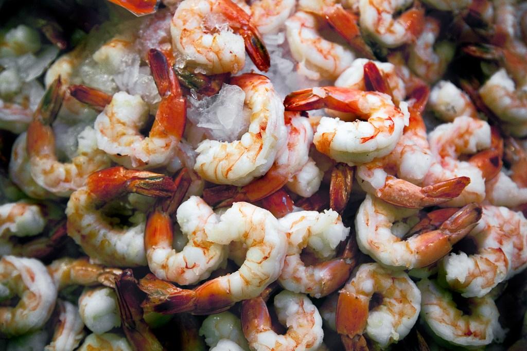 frozen shrimp