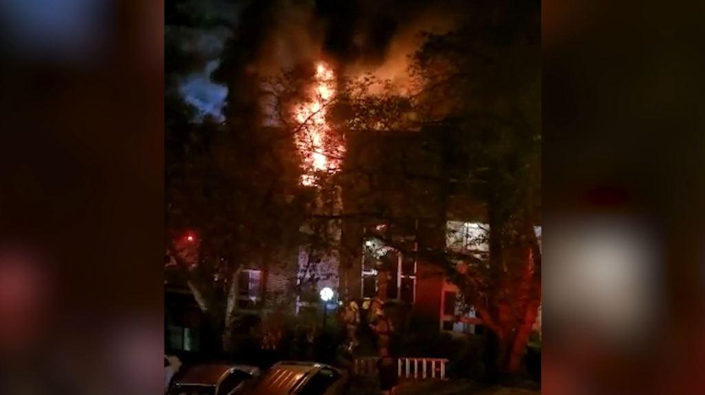 Incendio Aspen Hill